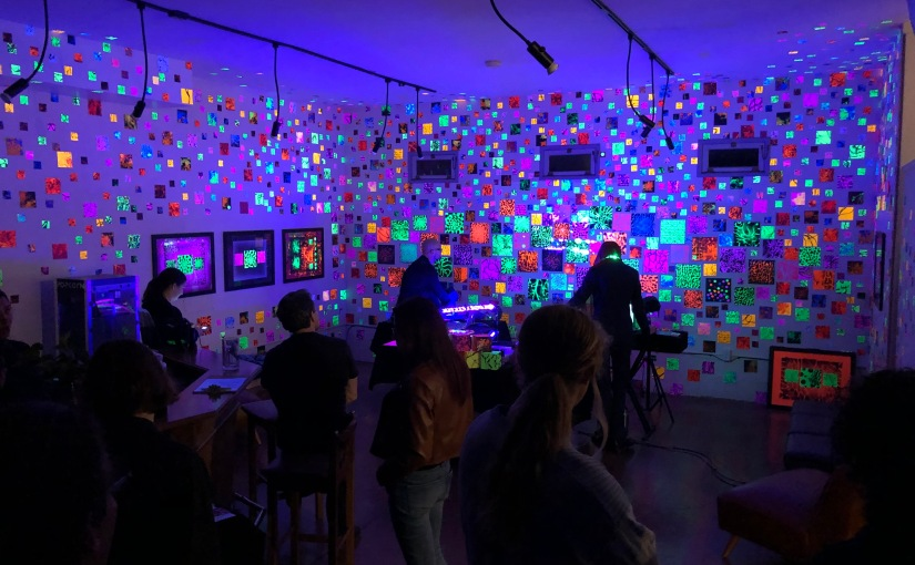 SLOcal Art: A Look at Jason Towne's Glow Show at Art After Dark