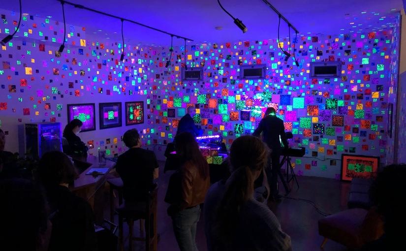 SLOcal Art: A Look at Jason Towne's Glow Show at Art AfterDark